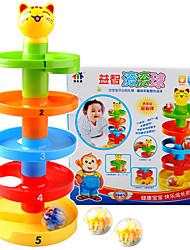 Blocos de Construir Pista de Corrida para presente Blocos de Construir Plásticos 3-6 anos de idade Brinquedos