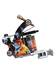 Colorful Wraps Coil Tattoo Machine Alloy Liner and Shader Guns For Starter Tattoo Arist