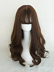 Punk Lolita Chocolate Long Curls Lolita Wig
