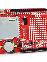 XD-204 Data Logging Shield Module for Arduino - Red