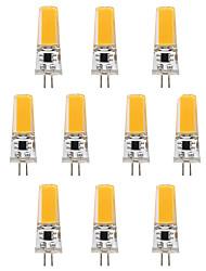 10PCS BRELONG G4 1*COB 270-300LM Warm/Cool White AC/DC 10-16V Waterproof LED Bi-pin Lights