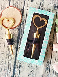 Gold Bottle Stopper Classic Theme Non-personalised Practical Beter Gifts® Life Style