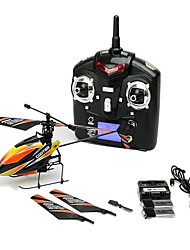 WL Toys V911 4CH 2.4G RC Airplane Remote Controller/Transmitter 1 Helicopter 1× User manual Batteries