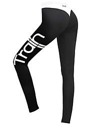Mujer Pantalones ajustados de running Gimnasio, Correr & Yoga Secado rápido Transpirable Medias/Mallas Largas para Yoga Jogging Ejercicio