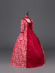 Steampunk®Renaissance Georgian Dress Brocade Period Ball Gown Dark Vampire Costume
