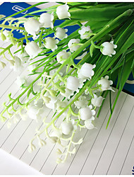 1Branch Partition Wall Ornamental Artificial Flowers