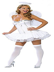 Cosplay Costumes Party Costume Queen Goddess Angel/Devil Cosplay Festival/Holiday Halloween Costumes White Others Vintage DressHalloween