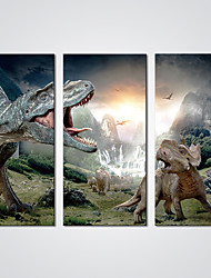 Stretched Canvas Print Dinosaurs Picture Modern  Artwork for Wall Decoration
