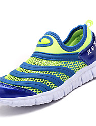 Boys' Athletic Shoes Comfort Spring Fall Tulle Running Shoes Casual Split Joint Flat Heel Navy Blue Blushing Pink Royal Blue 2in-2 3/4in