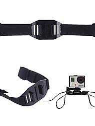 Sangle Caméra Sportive Pour Casque Ventilé Pliable Vitesses Réglables PourTous les appareils d'action Tous Xiaomi Camera Gopro 5 SJ4000