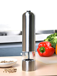 Stainless Steel Electric Mill Grinder Salt Pepper Muller Kitchen Tools