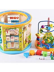 Jogo de Tabuleiro Barraca de Brinquedo Brinquedos para Adultos Madeira