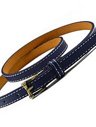 Mujer Metálico Brillante Sexy Cinturón Vestido Aleación Otros Cinturón Slim,Sólido