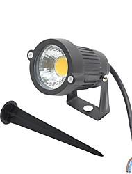 Focos de LED Giratória 1 COB 300-400 lm Branco Quente Branco Frio Vermelho Azul Verde AC 85-265 DC 12 AC 12 V 1 pç