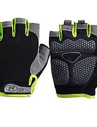 Спортивные перчатки Универсальные Перчатки для велосипедистов Весна Лето Велоперчатки Пригодно для носки Дышащий Защитный Впитывает пот и