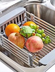 Stainless Steel Kitchen Sink Rinse Basket