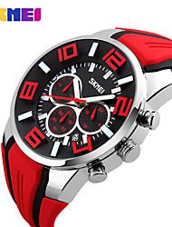 Women's Men's SKMEI   Fashion Sport Stop Watch Auto Date 30M Waterproof Clocks Relogio Masculino Male Brand Watches