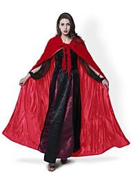Волшебник/ведьма Призрак Вампиры Косплей Пальто Косплэй Kостюмы Накидка Метлы для ведьм Товары для Хэллоуина Костюм для вечеринки Маскарад