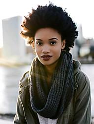Afro Kinky Tresses Bouclé Afro Kanekalon Auburn foncé vin foncé Bourgogne Noir Brun Extensions de cheveux 8 pouces Cheveux Tressée
