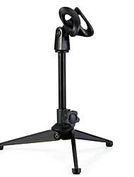 Bm800 soporte de trípode de metal edición mejorada ajustable micrófono de condensador inalámbrico micrófono de escritorio montaje de