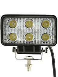 Kkmoon 18w led car work light bar 4.3 inch 1350lm spot beam для джипа offroad atv truck suv 12v 24v