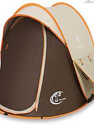 3 a 4 Personas Tienda Doble Carpa para camping Tienda pop up Resistente a los UV Resistente a la lluvia para Camping y senderismo CM
