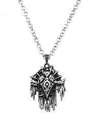 Lureme Vintage Jewelry World of Warcraft Horde Signs Pendant Necklace for WOW Fans