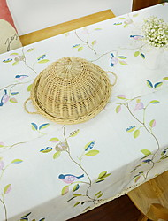 Pastoral Style Yellow Cotton And Linen Table Cloth 40*60cm