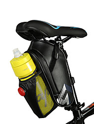 ROSWHEEL Bicycle Bag Rainproof Saddle Bag Outdoor Cycling MTB Bike Back Seat Tail Pouch Tool Bags with Tail Light Bottle Bag