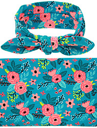 Baby Blanket 2 Pcs Headband Blanket Comfortable Cute Baby Product