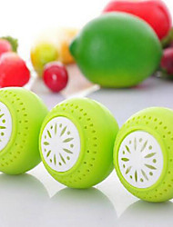 3Pcs Fruits Vegetable Fresh Odor Absorb Refrigerator Fridgeballs