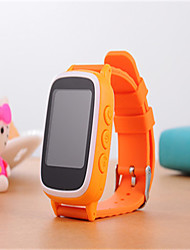 Kid's Smart Watch Digital Rubber Band Blue Pink Yellow