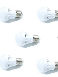 3W Ampoules LED Intelligentes A60(A19) 9 SMD 2835 200 lm Blanc Chaud Blanc FroidA détecteur Audio-activé Décorative Contrôle de la