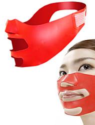 Silicone V Face Slimmer Cheek Lift Up Thin Massage Mask Facial Slimming Contour Bandage Shaper Anti Nasolabial Folds Wrinkle Sagging Sleeping Belt