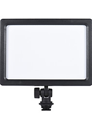 Andoer CM-180D 12W Dimmable Bi-color 3200K - 5600K LED Video Light Panel Lamp w/ LCD Display for Canon Nikon