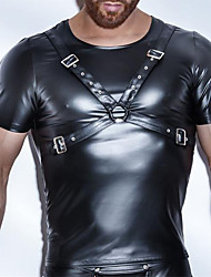 Homme Sexy Solide Maillot de corps