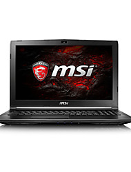 Ordenador portátil del juego del msi 15.6 pulgadas intel i5-7300hq 8gb ddr4 1tb hdd windows10 gtx1050 2gb gl62m 7rd-224cn