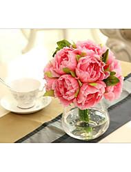 Peony High Simulation Of Peony Flowers Wedding Decoration Decoration Household Decoration