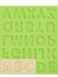 Capital Letter Silicone Fondant Mold Cake Decoration Tools for Chocolate Fimo Clay Mold