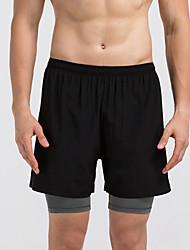 Homens Corrida Shorts Fitness, Corrida e Yoga Verão Correr