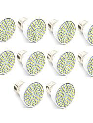 3.5 LED Spot Lampen MR16 60 SMD 2835 300 lm Warmes Weiß Kühles Weiß Dekorativ AC 220-240 V 10 Stück