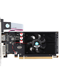 MINGYING Placa gráfica de vídeo 625MHz/1066MHz2GB/64 bit GDDR3