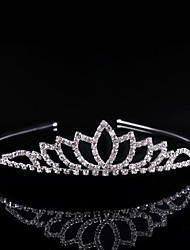 Wedding Bride Crown Vogue Lovely Girls Princess Bridal Crown Crystal Diamond Tiara Hoop Headband Hair Band Accessories