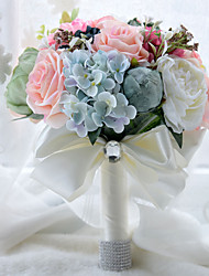 Floral Handmade Wedding Bride Hand Holding Bouquet Wedding Decoration