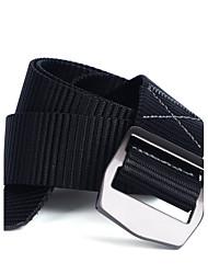 Hombre Color puro Oficina/ Negocios Aleación Cinturón de Cintura,Sólido