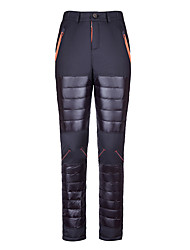 Mens Down Pants Winter Snow Ski Thermal Heat Hot Outdoor Ultra-light Thick Trousers