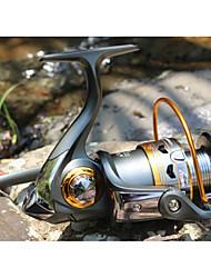 Рыболовная катушка подшипника Спиннинговые катушки 5.2:1 11 Шариковые подшипники ЗаменяемыйМорское рыболовство Пресноводная рыбалка