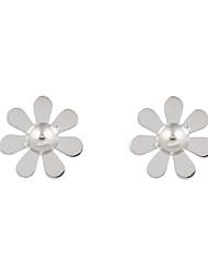 Women's Men's Stud Earrings Jewelry Flower Style Geometric Bohemian Adjustable Sideways Stretch Luxury Ferroalloy Geometric Jewelry For