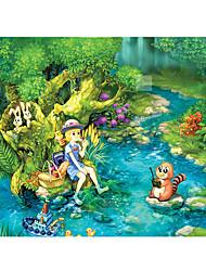 Пазлы Игрушки Rabbit Замок Знаменитое здание Корабль Архитектура Мультяшная тематика Цветы Универсальные Куски