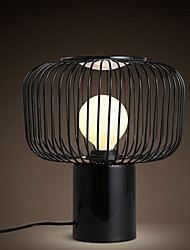Modern Simple Creative Personality Black Iron Bedroom Bedside Lamps